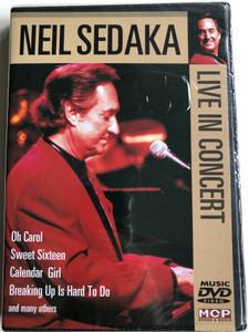 Neil Sedaka - Live in Concert DVD Oh Carol, Sweet Sixteen, Calendar Girl / MCP sound & media (9002986612414)