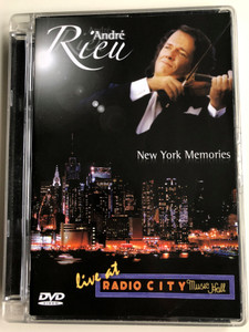 André Rieu - New York Memories DVD 2006 Live at Radio City Music Hall / 76 Trombones, My Way, Amen, Oh Happy Day, Le Marche de Radetzky, America the Beautiful / EDV17 (602498452516)