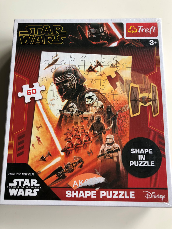 Star Wars Shape in Puzzle / From the New Film - The Rise of Skywalker / Trefl Puzzle / Ages 3+ (5900511909111)