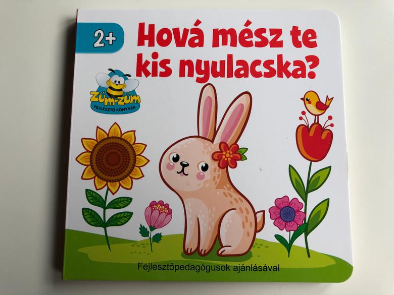 Hová mész te kis nyulacska? / Züm-züm fejlesztő könyvek / Fejlesztőpedagógusok ajánlásával / Hungarian nursery rhymes enriching the vocabulary / Pannon-Literatúra / Szalay Könyvek / Ages 2+ (9789632371658)