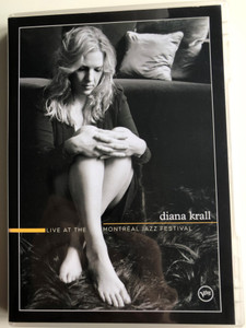 Diana Krall - Live at the Montréal Jazz Festival DVD 2004 / Anthony Wilson guitar, Robert Hurst bass, Peter Erskin drums / Stop this World, East of the Sun, Narrow Daylight (602498649367)