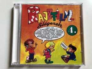 Rajzfilmslágerek 4. / (Meet) The Flinstones, Mekk Elek, Frakk, A Macskák Réme, Alfréd A Kacsa, Pif és Herkules, Végtelen Történet, Aladdin, Süsü A Sárkány, Gyümölcsfalva Lakói, Brémai Muzsikusok, Nelly Az Elefánt / Origó Stúdió Audio CD 1997 / OS 9704