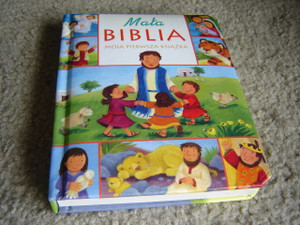 My Little Bible Board Book / POLISH CHILDREN'S BIBLE