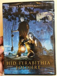 Bridge to Terabithia DVD 2007 Híd Terabithia földjére / Directed by Csupó Gábor / Starring: Jush Hucherson, Annasophia Robb, Robert Patrick, Zooey Deschanel (5999075600800)