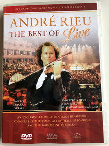 André Rieu - The Best of LIVE DVD An Exclusive Compilation from his Superb Concerts / Directed by Jean - Philippe Rieu / Bolero, Kalinka, Sirtaki, Radetzky Marsch (5029365882729)