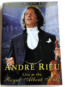André Rieu Live at the Royal Albert Hall DVD 2002 Special Music Edition / Directed by Jean-Philippe Rieu / Mawa Film & Medien / Hava Nagila, Funiculi Funicula, The André Sisters, Sirtaki (4030816120032)