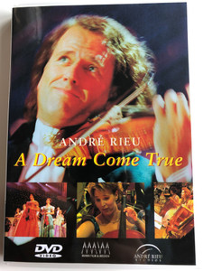 André Rieu - A Dream Come True DVD / Extra bonus material, Portrait, Discography, List of Titles / Foreign Media Music 8828 / Un reve devenue réalité (5029365882828)