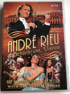 André rieu at Schönbrunn Vienna DVD The Johann Strauss Orchestra with the Platin Tenors / Directed by Pit Weyrich / The Gypsy Princess, Heia in the Mountains, The Beautiful blue Danube (0602517057630)