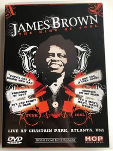 James Brown - The King of Soul DVD Live at Chastain Park, Atlanta USA / MCP Sound & Media / Prisoner of Love, I got you (I feel good), It's a man's world (9002986612667)