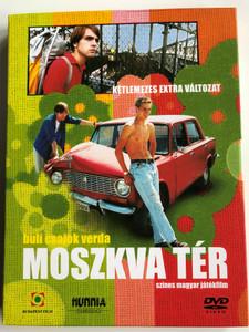 Moszkva tér - Moscow Square DVD 2001 / 2xDVD Disc Collector's Edition - Extra Features Disc / Directed by Török Ferenc / Starring: Karalyos Gábor, Pápai Erzsi, Balla Eszter, Csatlós Vilmos, Jávor Bence (5999544249066)