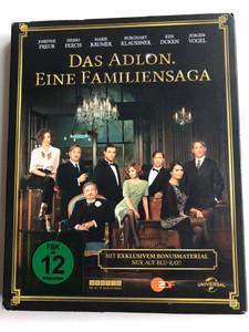 Das Adlon - Eine Familiensaga Blu-ray Disc 2013 Teil 1-3 mit Bonusmaterial / Directed by Uli Edel / Starring: Nona Maaß, Josefine Preuß, Heino Ferch, Marie Bäumer, Maria Ehrich (5050582942101)