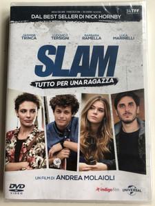 Slam - Tutto per una Ragazza DVD 2016 / Directed by Andrea Molaioli / Starring: Jasmine Trinca, Ludovico Tersigni, Barbara Ramella, Luca Marinelli (5053083118945)