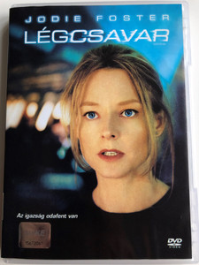 Flight plan DVD 2005 Légcsavar / Directed by Robert Schwentke / Starring: Jodie Foster, Peter Sarsgaard, Erika Christensen, Sean Bean (5996255719819)
