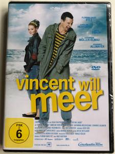 Vincent will meer DVD 2010 Vincent wants to Sea / Directed by Ralf Huettner / Starring> Florian David Fitz, Karoline Herfurth, Heino Ferch, Katharina Müller-Elmau (4011976874782)