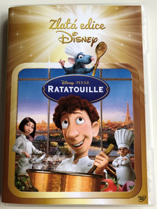 Ratatouille DVD 2007 Slovak Gold edition / Directed by Brad Bird / Voice Actors: Patton Oswalt, Ian Holm, Lou Romano (8595165350845)