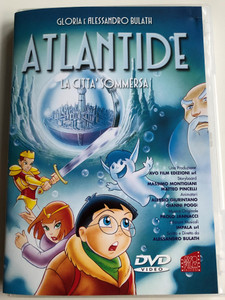 Atlantide - La Citta' Sommersa DVD 2001 Atlantis - The Submerged city / Directed by Alessandro Bulath, Gloria Bulath / Italian animated film (8010927090017)