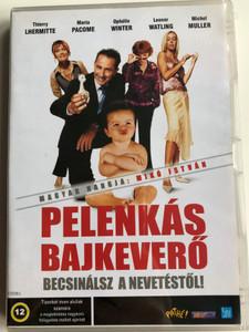 Mauvais Esprit DVD 2003 Pelenkás bajkeverő / Directed by Patrick Alessandrin / Starring: Thierry Lhermitte, Ophélia Winter, Maria Pacome, Leonor Watling (5998133153531)