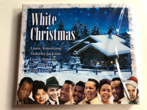 White Christmas / Louis Armstrong, Mahalia Jackson, Frank Sinatra, The Platters, Bing Crosby / LMM Audio CD 2007 / 1396992