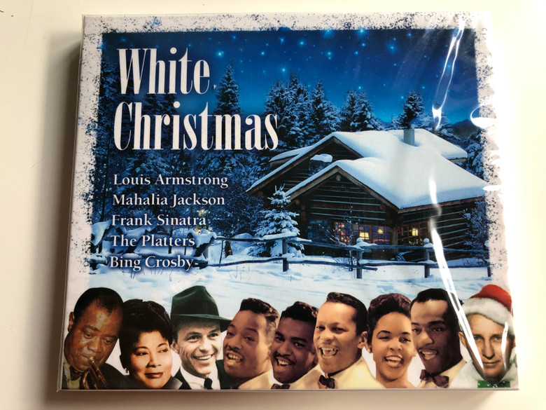 White Christmas / Louis Armstrong, Mahalia Jackson, Frank Sinatra, The Platters, Bing Crosby / LMM Audio CD 2007 / 1396992