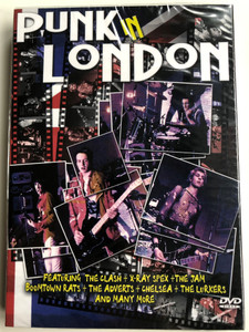 Punk in London DVD Featuring: The Clash + X-Ray Spex + The Jam / Directed by Wolfgang Buld / Re-mastered from the original negative (7393068071086)