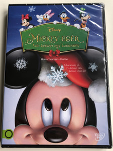 Mickey's Twice Upon a Christmas DVD 2004 Mickey egér - Volt kétszer egy karácsony / Directed by Matthew O'Callaghan / Starring: Wayne Allwine, Tony Anselmo, Jeff Bennett, Jim Cummings (5996514016789)