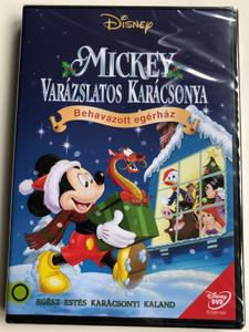 Mickey's Magical Christmas DVD 2001 Mickey Varázslatos Karácsonya - Behavazott egérház / Directed by Tony Craig, Roberts Gannaway / Voices: Wayne Allwine, Tony Anselmo, Bill Farmer, Russi Taylor, Corey Burton (5996514016796)