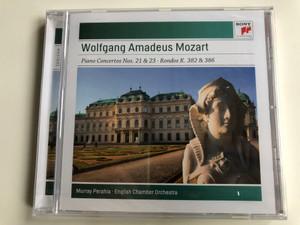 Wolfgang Amadeus Mozart – Piano Concertos Nos. 21 & 23 • Rondos K. 382 & 386 / Murray Perahia, English Chamber Orchestra / Sony Classical Audio CD 2010 / 88697757852