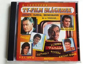 A Legszebb TV-Film Slágerek / Jockey, Surda, Brinkmann es a tobbiek... / Dallas, Kalandorok, Rivera, P.S.I. Luv U, Maigret, Knight Rider / PolyGram Audio CD 1995 / 527782-2