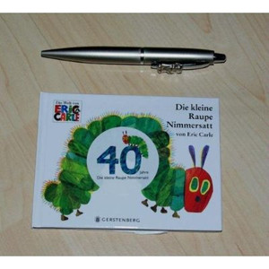 The Very Hungry Caterpillar GERMAN EDITION Small Hardcover Book