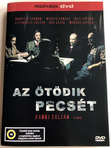 Az ötödik pecsét (The Fifth Seal) DVD 1976 /Directed by Fábri Zoltán / Starring: Lajos Őze, László Márkus, Zoltán Latinovits / Based on the novel by Ferenc Sánta (5996357312215)