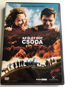 Život je čudo DVD 2004 Az élet egy csoda (Life Is a Miracle) / Directed by Emir Kusturica / Starring: Slavko Štimac, Nataša Šolak, Vesna Trivalić, Vuk Kostić (5999544251021)