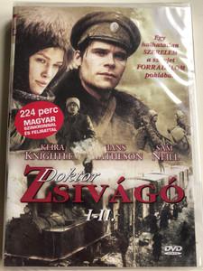 Doctor Zhivago DVD 2002 Doktor Zsivágó / Directed by Giacomo Campiotti / Starring: Hans Matheson, Keira Knightley, Kris Marshall, Sam Neill (5999553601831)