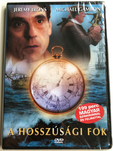 Longitude DVD 2000 A hosszúsági fok / Directed by Charles Sturridge / Starring: Michael Gambon, Jeremy Irons, Ian Hart (5999882843155)