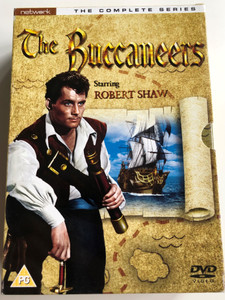 The Buccaneers 5x DVD SET The Complete Series / Produced by Hannah Weinstein / Starring: Robert Shaw, Paul Hansard, Brian Rawlinson (5027626218645)