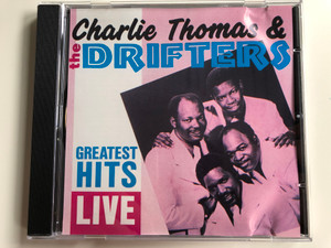 Charlie Thomas & The Drifters – Greatest Hits Live / ARC Records Audio CD 1986 / TOP 143