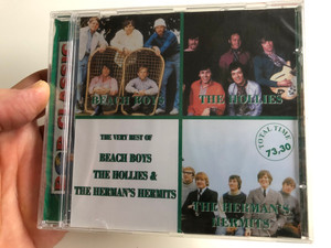The Very Best Of - Beach Boys, The Hollies, The Herman's Hermits / Euroton Audio CD / EUCD-0007
