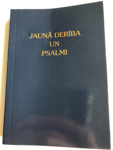 Jauna Deriba un Psalmi / Latvian New Testament and Psalms / Gute Botschaft Verlag 2008 / GBV 34200 / Paperack / Latvian NT (9783866981348)