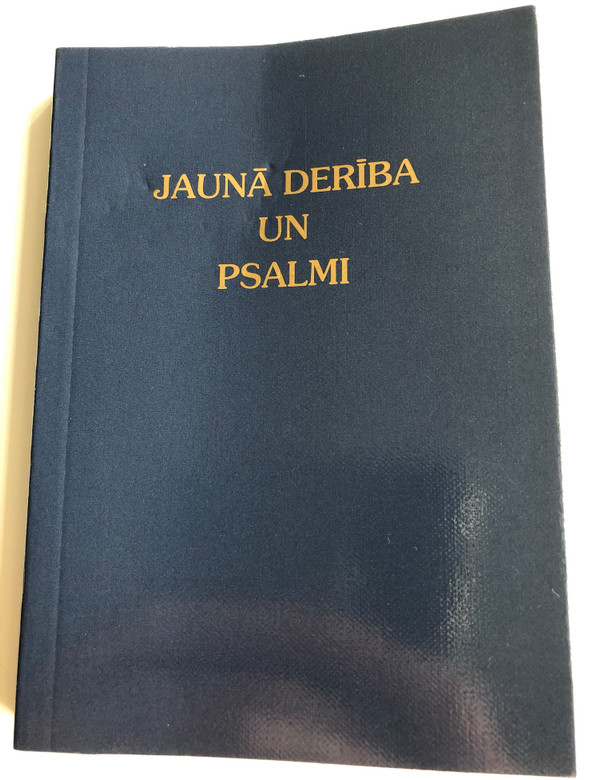 Jauna Deriba un Psalmi / Latvian New Testament and Psalms / Gute Botschaft Verlag 2008 / GBV 34200 / Paperack / Latvian NT (9783866981348)