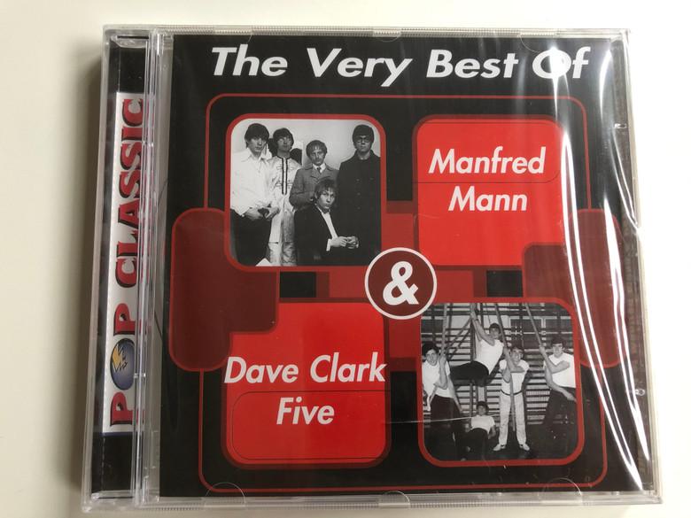 The Very Best Of - Manfred Mann & Dave Clark Five / Pop Classic / Euroton Audio CD / EUCD-0139
