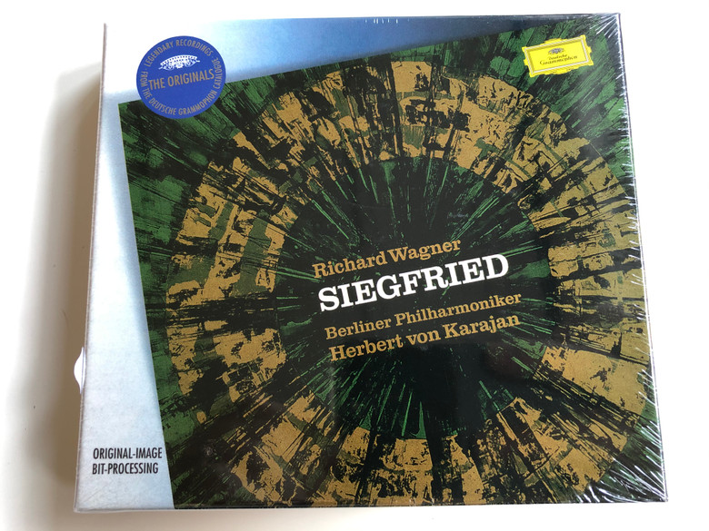 Richard Wagner – Siegfried / Berliner Philharmoniker, Herbert von Karajan ‎/ Deutsche Grammophon ‎4x Audio CD Stereo / 457 790-2
