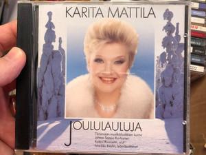 Karita Mattila – Joululauluja / Tiirismaan Musiikkiluokkien Kuoro, jahtaa Seppo Korhonen, Kalevi Kiviniemi, urut Markku Krohn, lyomasoittimet / Lahti Organ Festival Audio CD 1992 / LOFCD-101