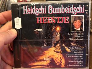 Heidschi Bumbeidschi - Heintje / Seine schonsten Lidere zur Weilmachtszeit / Weisse Weihnacht (White Christmas), Jingle Bells, Der Kleine Trommler (Little Drummer Boy), Stille Nacht, Heilige Nacht / Ariola Audio CD / 261089-217