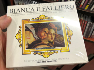 Gioachino Rossini - Bianca E Falliero 3x Audio CD / The London Sinfonietta Opera Orchestra / Conducted by Donato Renzetti / Katia Ricciarelli, Chris Merritt, Marilyn Horne / Hommage Multimedia (4011220018382)