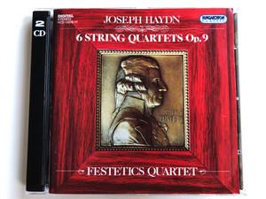 Joseph Haydn – 6 String Quartets Op.9 / Festetics Quartet / Hungaroton Classic 2x Audio CD 1995 Stereo / HCD 12976-77