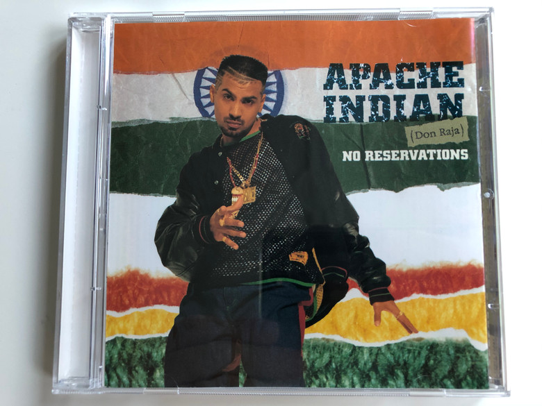 Apache Indian (Don Raja) – No Reservations / Island Records Audio CD 1993 / 74321 12632 2