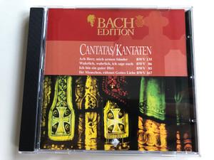 Bach Edition / Cantatas=Kantaten / Ach Herr, Mich Armen Sünder (BWV 135), Wahrlich, Wahrlich, Ich Sage Euch (BWV 86), Ich Bin Ein Guter Hirt (BWV 85), Ihr Menschen, Rühmet Gottes Liebe (BWV 167) / Brilliant Classics Audio CD / 99364/5