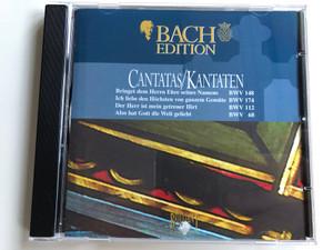 Bach Edition / Cantatas=Kantaten / Bringet Dem Herrn Ehre Seines Namens BWV 148, Ich Liebe Den Höchsten Von Ganzem Gemüte BWV 174, Der Herr Ist Mein Getreuer Hirt BWV 112, Also Hat Gott Die Welt Geliebt / Brilliant Classics Audio CD / 99380/2
