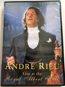 André Rieu DVD 2002 Live at Royal Albert Hall - Special Music Edition / Directed by Jean-Philippe Rieu / Wiener Blut, Tea for two, Radetzky Marsch, Glenn Miller Melody, Sirtaki (5029365882927)