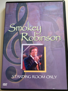 Smokey Robinson DVD 1990 Standing Room only / All Channel Films / My Love, Quiet Storm, Speak Low, Lady sings the blues (828765068192)