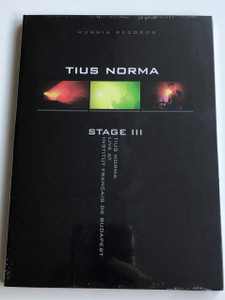 Tius Norma - Stage III DVD Live at Institut Francais de Budapest / Hunnia Records 2011 / Solitude, Steep, Winter Sun, Drive me, Healing Slowly (5999883042670)
